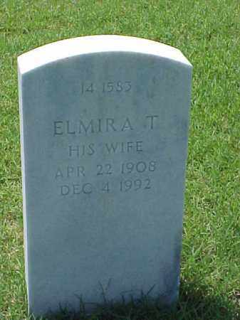 AIKINS, ELMIRA T - Pulaski County, Arkansas | ELMIRA T AIKINS - Arkansas Gravestone Photos