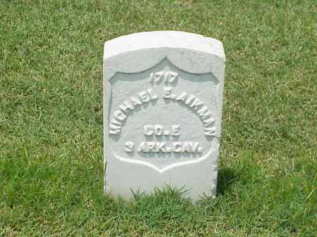 AIKMAN (VETERAN UNION), MICHAEL  E - Pulaski County, Arkansas | MICHAEL  E AIKMAN (VETERAN UNION) - Arkansas Gravestone Photos