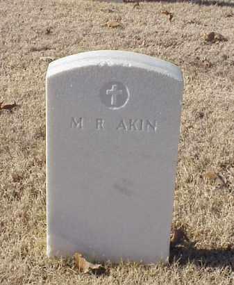AKIN, M R - Pulaski County, Arkansas | M R AKIN - Arkansas Gravestone Photos