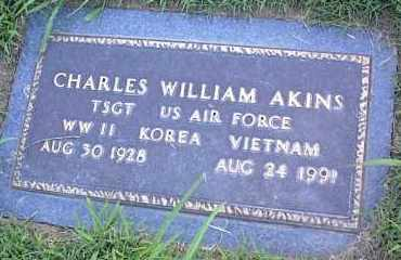 "AKINS (VETERAN 3WARS), CHARLES WILLIAM ""CHUCK"" - Pulaski County, Arkansas 