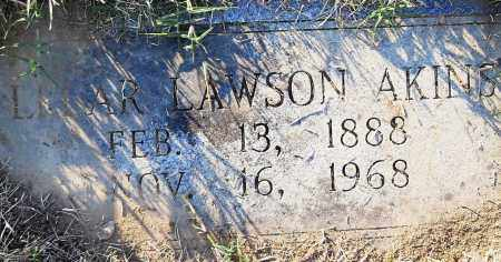 LAWSON AKINS, LELAR - Pulaski County, Arkansas | LELAR LAWSON AKINS - Arkansas Gravestone Photos