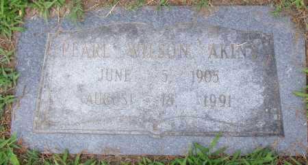 WILSON AKINS, PEARL - Pulaski County, Arkansas | PEARL WILSON AKINS - Arkansas Gravestone Photos