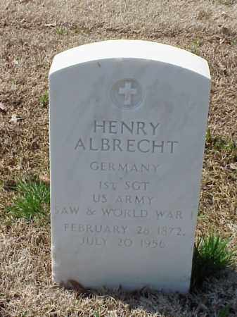 ALBRECHT (VETERAN 2WARS), HENRY - Pulaski County, Arkansas | HENRY ALBRECHT (VETERAN 2WARS) - Arkansas Gravestone Photos