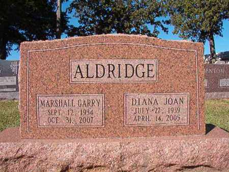 ALDRIDGE, DIANA JOAN - Pulaski County, Arkansas | DIANA JOAN ALDRIDGE - Arkansas Gravestone Photos