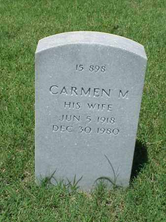 ALEXANDER, CARMEN M. - Pulaski County, Arkansas | CARMEN M. ALEXANDER - Arkansas Gravestone Photos