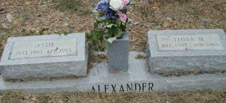 ALEXANDER, LEONA M. - Pulaski County, Arkansas | LEONA M. ALEXANDER - Arkansas Gravestone Photos