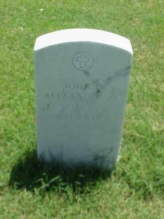 ALEXANDER, JR (VETERAN WWII), JOHN L - Pulaski County, Arkansas | JOHN L ALEXANDER, JR (VETERAN WWII) - Arkansas Gravestone Photos