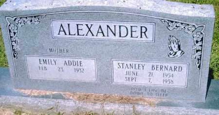 ALEXANDER, STANLEY BERNARD - Pulaski County, Arkansas | STANLEY BERNARD ALEXANDER - Arkansas Gravestone Photos