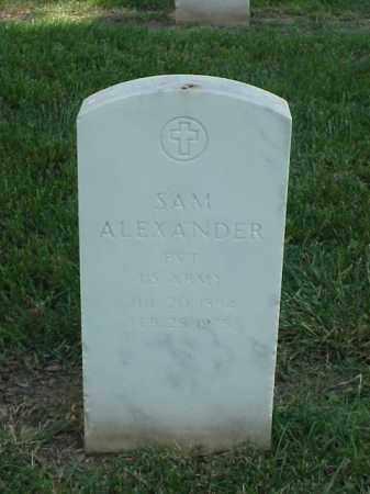 ALEXANDER (VETERAN), SAM - Pulaski County, Arkansas | SAM ALEXANDER (VETERAN) - Arkansas Gravestone Photos
