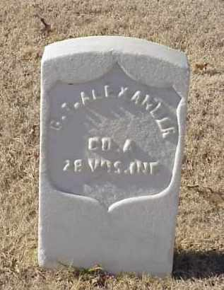 ALEXANDER (VETERAN UNION), G T - Pulaski County, Arkansas | G T ALEXANDER (VETERAN UNION) - Arkansas Gravestone Photos