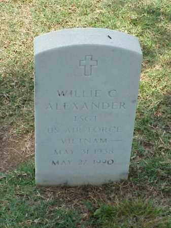 ALEXANDER (VETERAN VIET), WILLIE C - Pulaski County, Arkansas | WILLIE C ALEXANDER (VETERAN VIET) - Arkansas Gravestone Photos