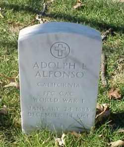 ALFONSO (VETERAN WWI), ADOLPH L - Pulaski County, Arkansas | ADOLPH L ALFONSO (VETERAN WWI) - Arkansas Gravestone Photos