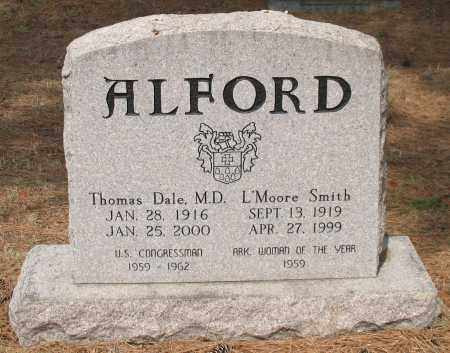 SMITH ALFORD, L'MOORE - Pulaski County, Arkansas | L'MOORE SMITH ALFORD - Arkansas Gravestone Photos
