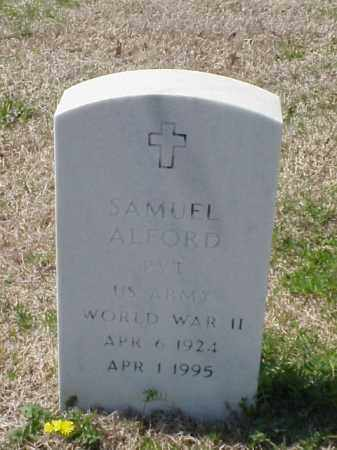 ALFORD (VETERAN WWII), SAMUEL - Pulaski County, Arkansas | SAMUEL ALFORD (VETERAN WWII) - Arkansas Gravestone Photos