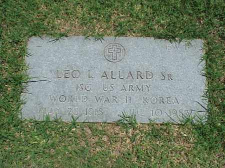ALLARD, SR (VETERAN 2WARS), LEO L - Pulaski County, Arkansas | LEO L ALLARD, SR (VETERAN 2WARS) - Arkansas Gravestone Photos