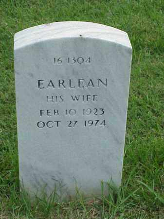 ALLEN, EARLEAN - Pulaski County, Arkansas | EARLEAN ALLEN - Arkansas Gravestone Photos