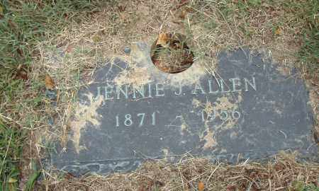 ALLEN, JENNIE J. - Pulaski County, Arkansas | JENNIE J. ALLEN - Arkansas Gravestone Photos