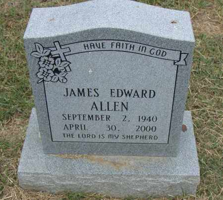 ALLEN, JAMES EDWARD - Pulaski County, Arkansas | JAMES EDWARD ALLEN - Arkansas Gravestone Photos
