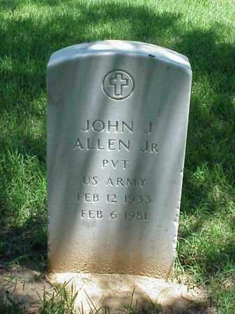 ALLEN, JR (VETERAN), JOHN J - Pulaski County, Arkansas | JOHN J ALLEN, JR (VETERAN) - Arkansas Gravestone Photos