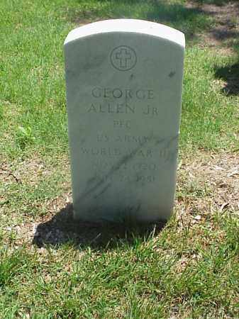 ALLEN, JR (VETERAN WWII), GEORGE - Pulaski County, Arkansas | GEORGE ALLEN, JR (VETERAN WWII) - Arkansas Gravestone Photos