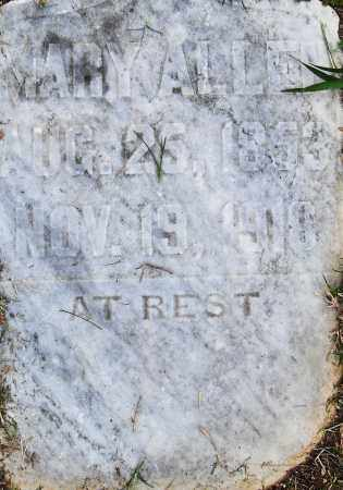 ALLEN, MARY - Pulaski County, Arkansas | MARY ALLEN - Arkansas Gravestone Photos