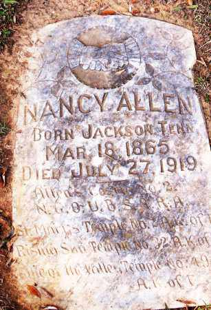 ALLEN, NANCY - Pulaski County, Arkansas | NANCY ALLEN - Arkansas Gravestone Photos