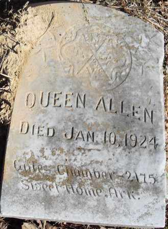 ALLEN, QUEEN - Pulaski County, Arkansas | QUEEN ALLEN - Arkansas Gravestone Photos
