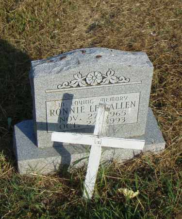 ALLEN, RONNIE L. - Pulaski County, Arkansas | RONNIE L. ALLEN - Arkansas Gravestone Photos