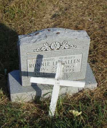 ALLEN, RONNIE L. - Pulaski County, Arkansas   RONNIE L. ALLEN - Arkansas Gravestone Photos