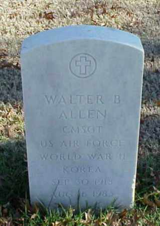 ALLEN (VETERAN 2 WARS), WALTER B - Pulaski County, Arkansas | WALTER B ALLEN (VETERAN 2 WARS) - Arkansas Gravestone Photos