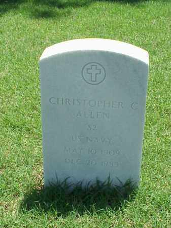 ALLEN (VETERAN), CHRISTOPHER C - Pulaski County, Arkansas | CHRISTOPHER C ALLEN (VETERAN) - Arkansas Gravestone Photos
