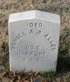 ALLEN (VETERAN CSA), DANIEL A R - Pulaski County, Arkansas | DANIEL A R ALLEN (VETERAN CSA) - Arkansas Gravestone Photos