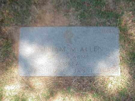 ALLEN (VETERAN KOR), WILLIAM M - Pulaski County, Arkansas | WILLIAM M ALLEN (VETERAN KOR) - Arkansas Gravestone Photos