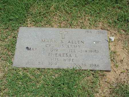 ALLEN (VETERAN), MARK  K - Pulaski County, Arkansas | MARK  K ALLEN (VETERAN) - Arkansas Gravestone Photos