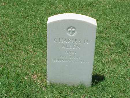 ALLEN (VETERAN UNION), CHARLES H - Pulaski County, Arkansas | CHARLES H ALLEN (VETERAN UNION) - Arkansas Gravestone Photos