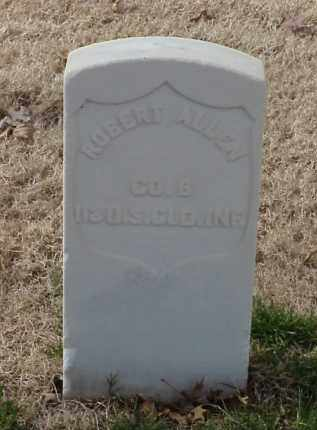 ALLEN (VETERAN UNION), ROBERT - Pulaski County, Arkansas | ROBERT ALLEN (VETERAN UNION) - Arkansas Gravestone Photos