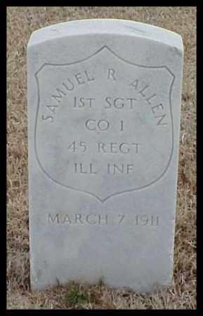 ALLEN (VETERAN UNION), SAMUEL R - Pulaski County, Arkansas | SAMUEL R ALLEN (VETERAN UNION) - Arkansas Gravestone Photos