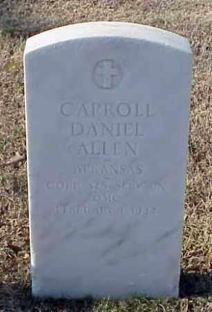 ALLEN (VETERAN WWI), CARROLL DANIEL - Pulaski County, Arkansas | CARROLL DANIEL ALLEN (VETERAN WWI) - Arkansas Gravestone Photos