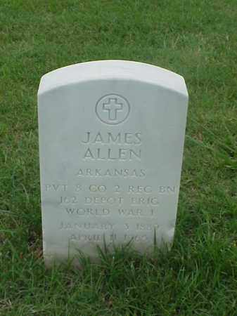 ALLEN (VETERAN WWI), JAMES - Pulaski County, Arkansas | JAMES ALLEN (VETERAN WWI) - Arkansas Gravestone Photos