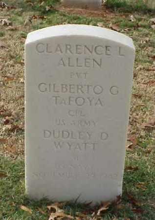 ALLEN (VETERAN WWII), CLARENCE L - Pulaski County, Arkansas | CLARENCE L ALLEN (VETERAN WWII) - Arkansas Gravestone Photos