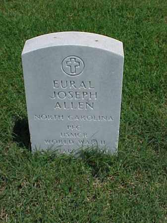 ALLEN (VETERAN WWII), EURAL JOSEPH - Pulaski County, Arkansas | EURAL JOSEPH ALLEN (VETERAN WWII) - Arkansas Gravestone Photos
