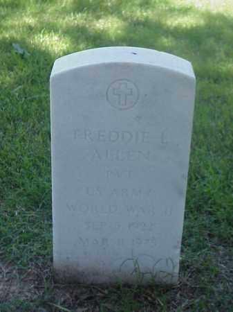 ALLEN (VETERAN WWII), FREDDIE L - Pulaski County, Arkansas | FREDDIE L ALLEN (VETERAN WWII) - Arkansas Gravestone Photos