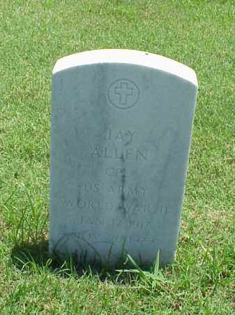 ALLEN (VETERAN WWII), JAY - Pulaski County, Arkansas | JAY ALLEN (VETERAN WWII) - Arkansas Gravestone Photos