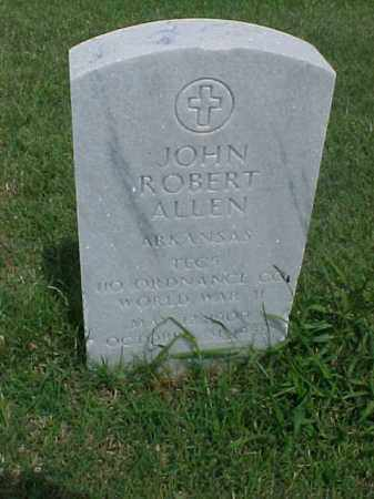 ALLEN (VETERAN WWII), JOHN ROBERT - Pulaski County, Arkansas | JOHN ROBERT ALLEN (VETERAN WWII) - Arkansas Gravestone Photos