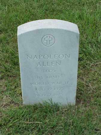ALLEN (VETERAN WWII), NAPOLEON - Pulaski County, Arkansas | NAPOLEON ALLEN (VETERAN WWII) - Arkansas Gravestone Photos