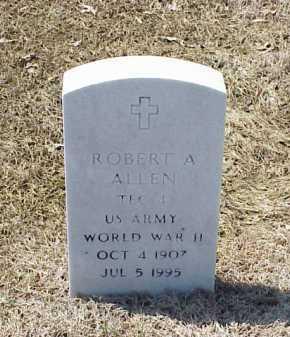 ALLEN (VETERAN WWII), ROBERT A - Pulaski County, Arkansas | ROBERT A ALLEN (VETERAN WWII) - Arkansas Gravestone Photos