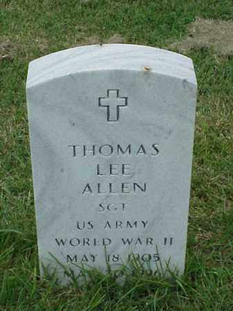 ALLEN (VETERAN WWII), THOMAS LEE - Pulaski County, Arkansas | THOMAS LEE ALLEN (VETERAN WWII) - Arkansas Gravestone Photos