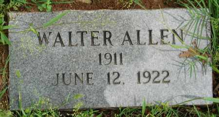 ALLEN, WALTER - Pulaski County, Arkansas | WALTER ALLEN - Arkansas Gravestone Photos