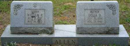 ALLEN, WILLIAM R. - Pulaski County, Arkansas | WILLIAM R. ALLEN - Arkansas Gravestone Photos
