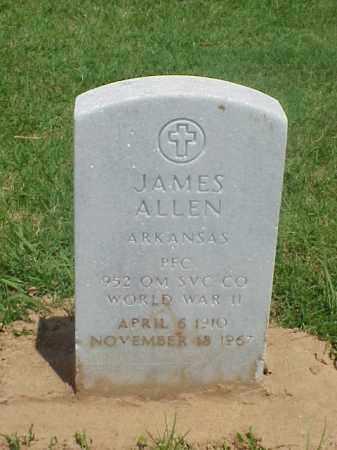 ALLEN (VETERAN WWII), JAMES - Pulaski County, Arkansas | JAMES ALLEN (VETERAN WWII) - Arkansas Gravestone Photos